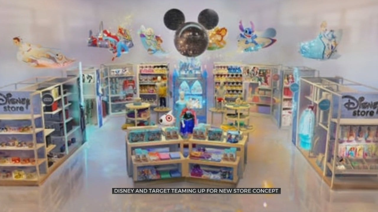 Target To Open Disney Sections In Some Stores Before The Holidays