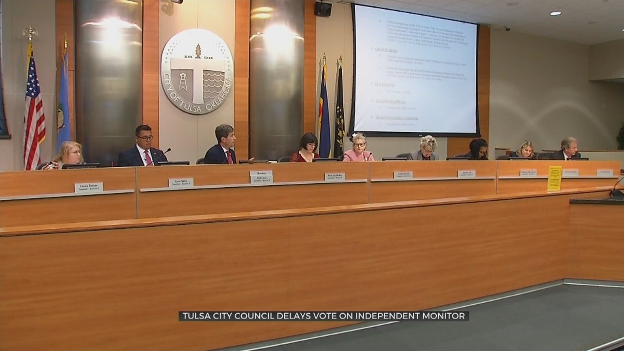 Tulsa City Councilors Delay Office of Independent Monitor
