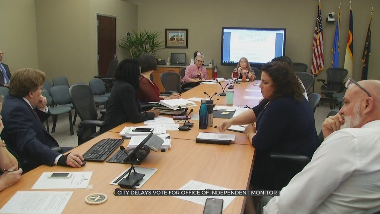 Tulsa Delays Vote For Office Of Independent Monitor