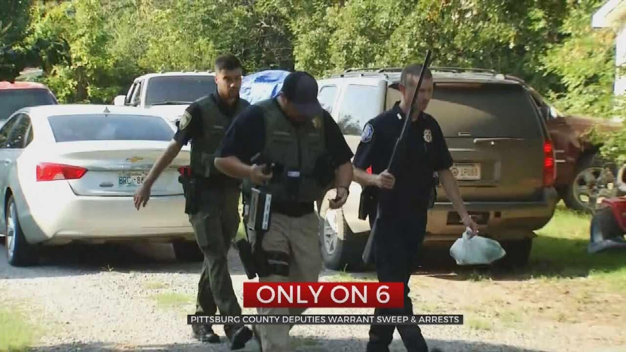 Pittsburg County Deputies Make Arrests After Undercover Drug Investigation