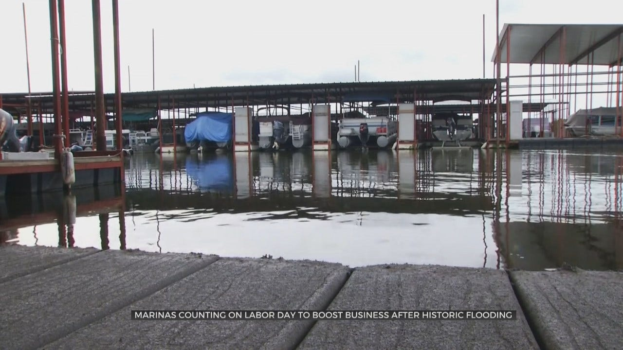 Oklahoma Lakes & Marinas Look To Bounce Back After Impact Of Spring Flooding