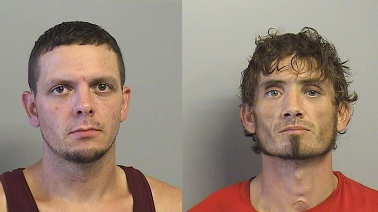 2 Men In Custody After Stealing Trailer From Construction Site