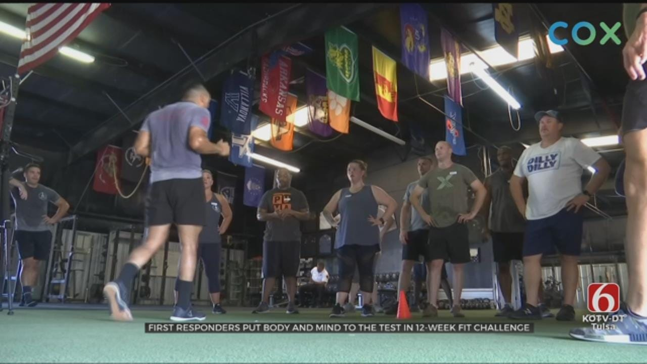 Green Country First Responders Compete To See Who's The Fittest