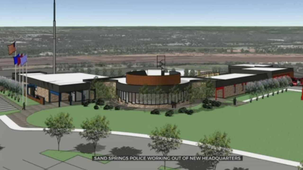 New Public Safety Center In Sand Springs Opens