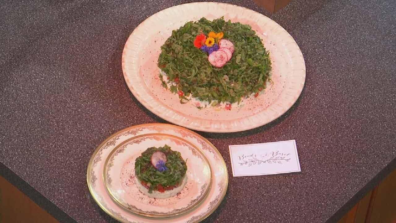 Israeli Salad With Ricotta And Yogurt