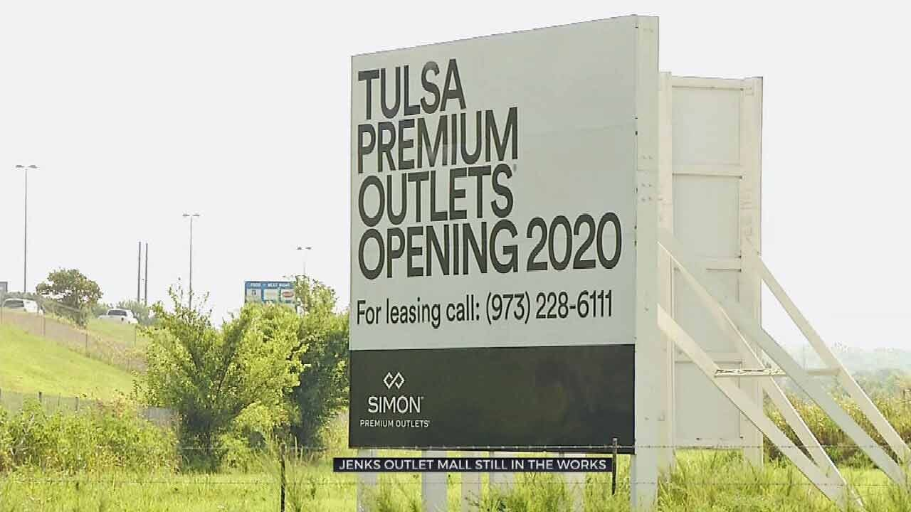 Jenks Outlet Mall One Step Closer To Reality