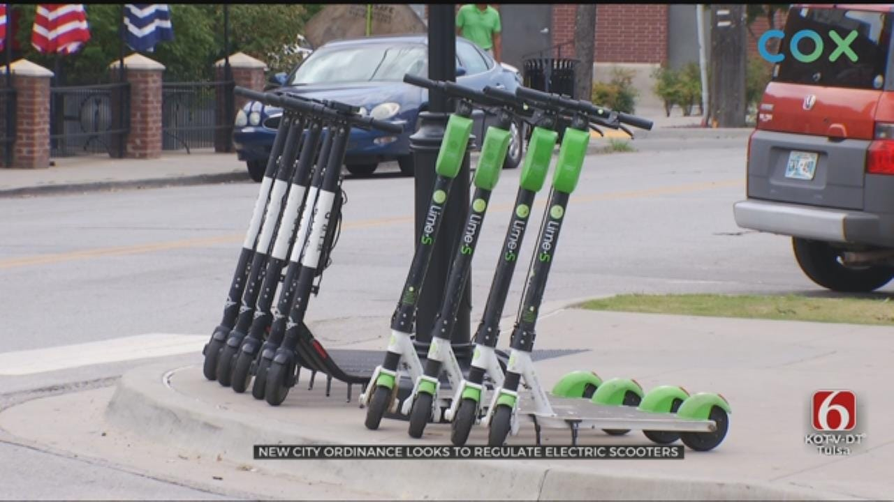 New Scooter Rules Being Made By Tulsa City Council