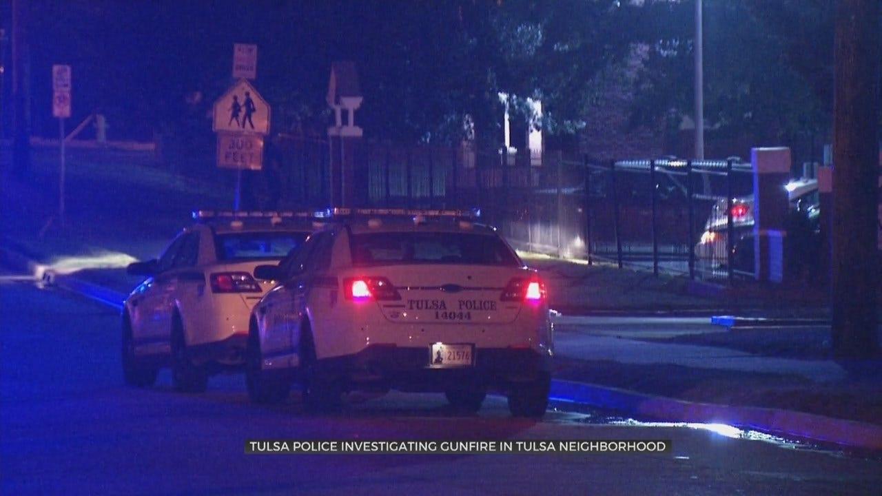 Tulsa Police Investigate Shots Fired In A Neighborhood