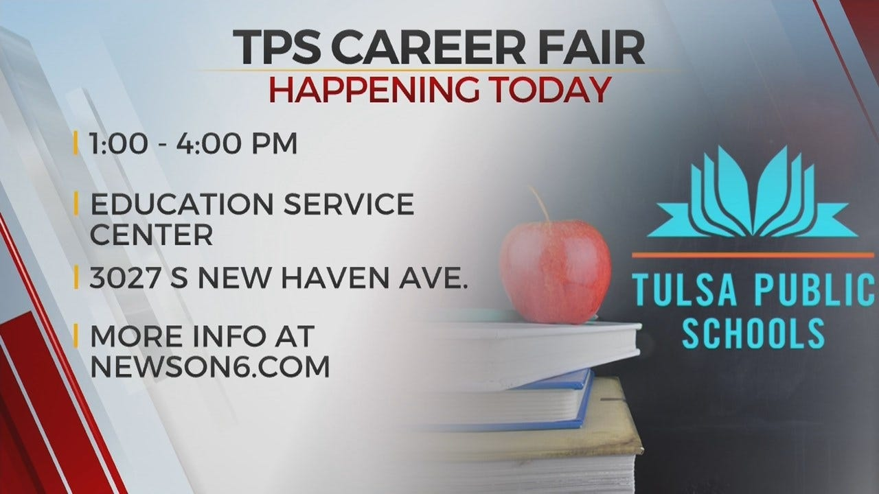 Tulsa Public Schools Holds Support Team Career Fair
