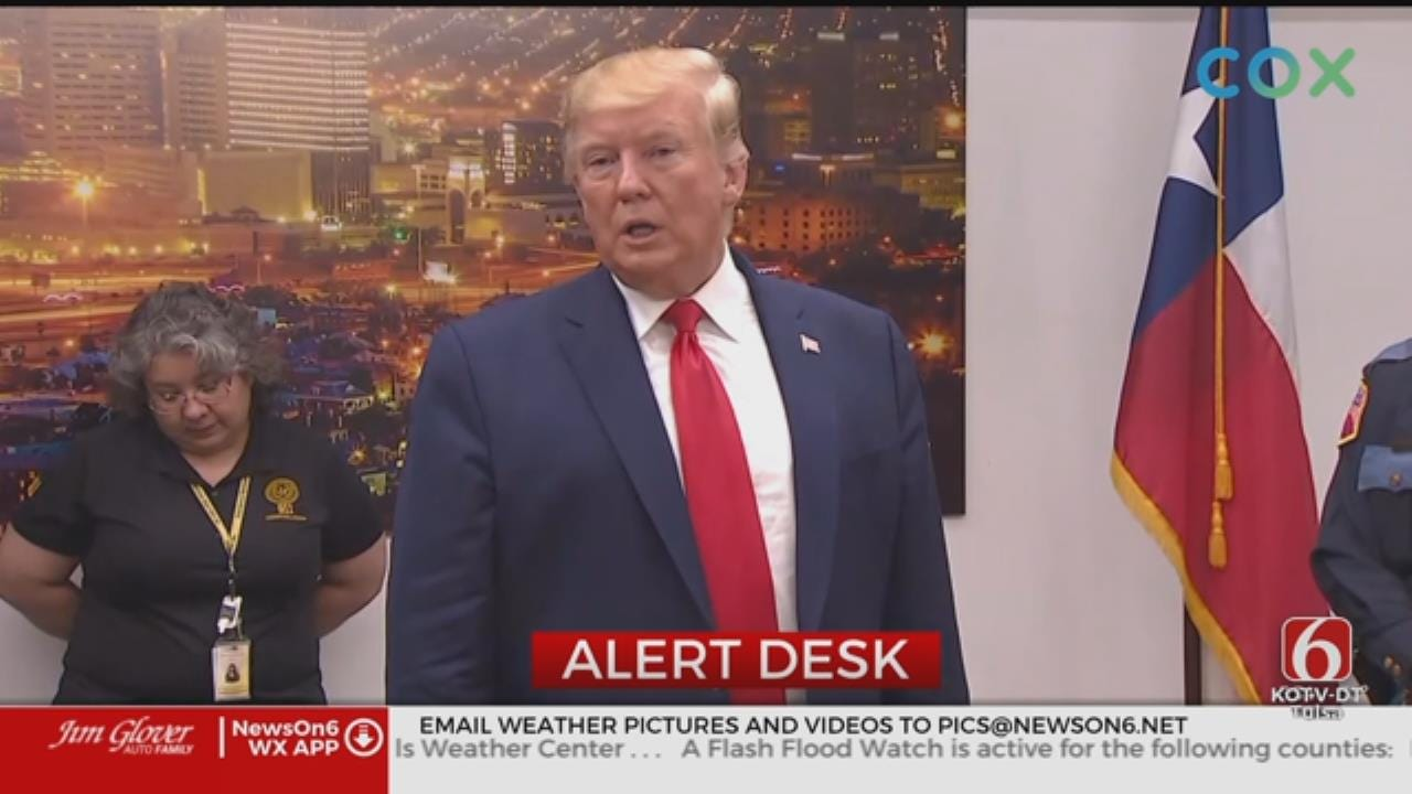 President Trump Visited El Paso, Dayton After Mass Shootings