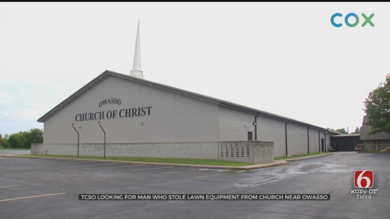 WATCH: Police Search For A Man That Burglarized An Owasso Church