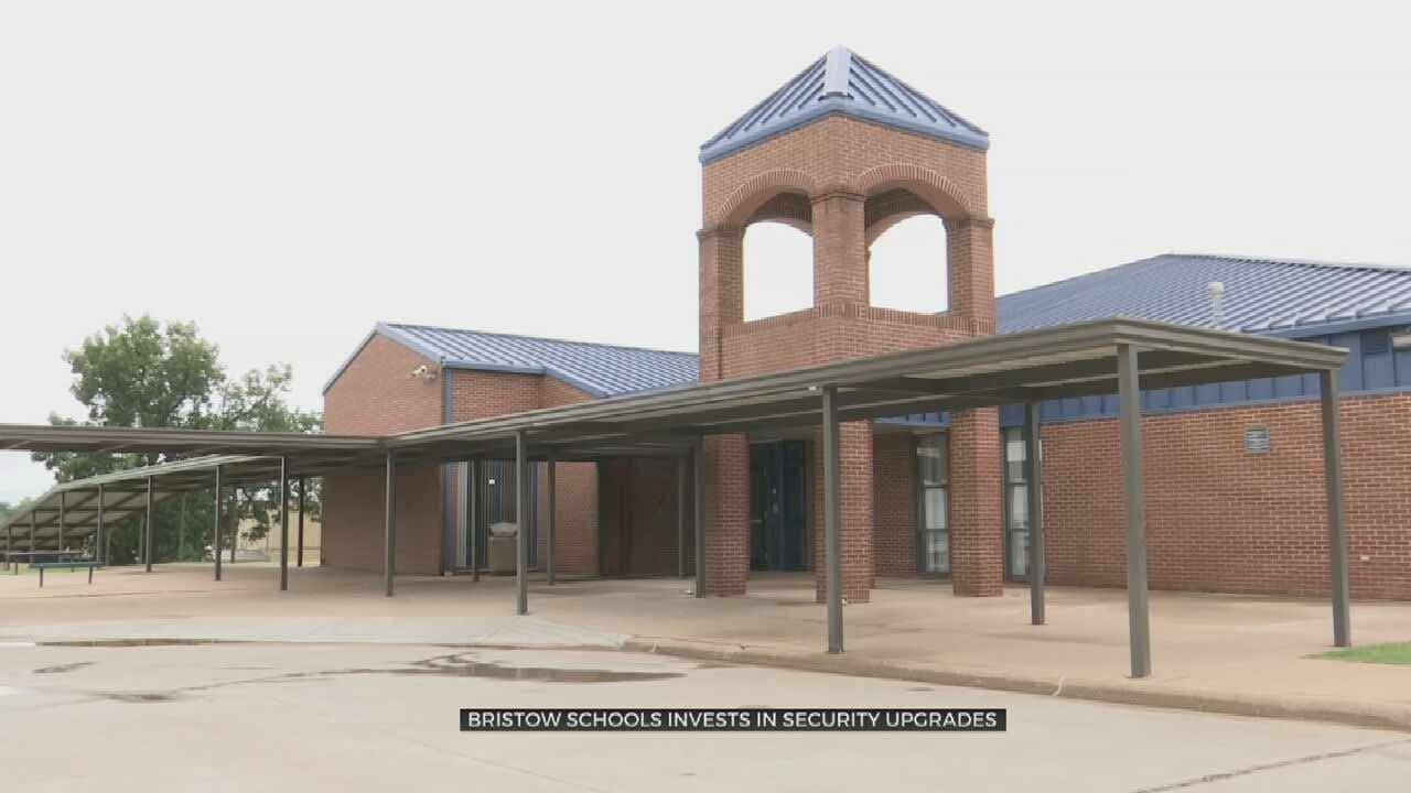 Bristow Public Schools Adds New Security Systems