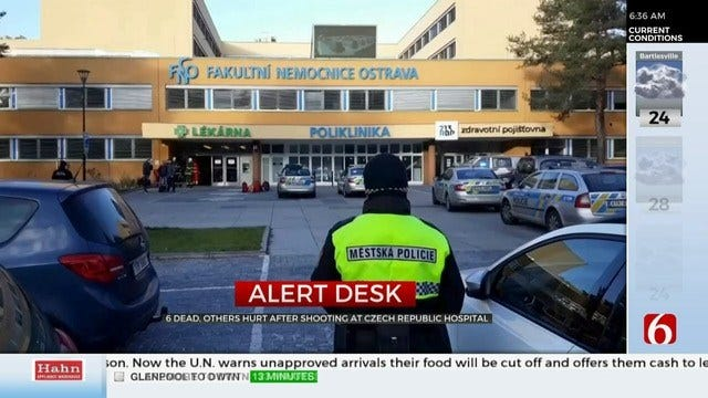 6 Dead, 2 Injured After Shooting At Czech Republic Hospital