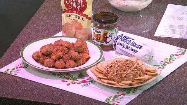 Made In Oklahoma Christmas Appetizers
