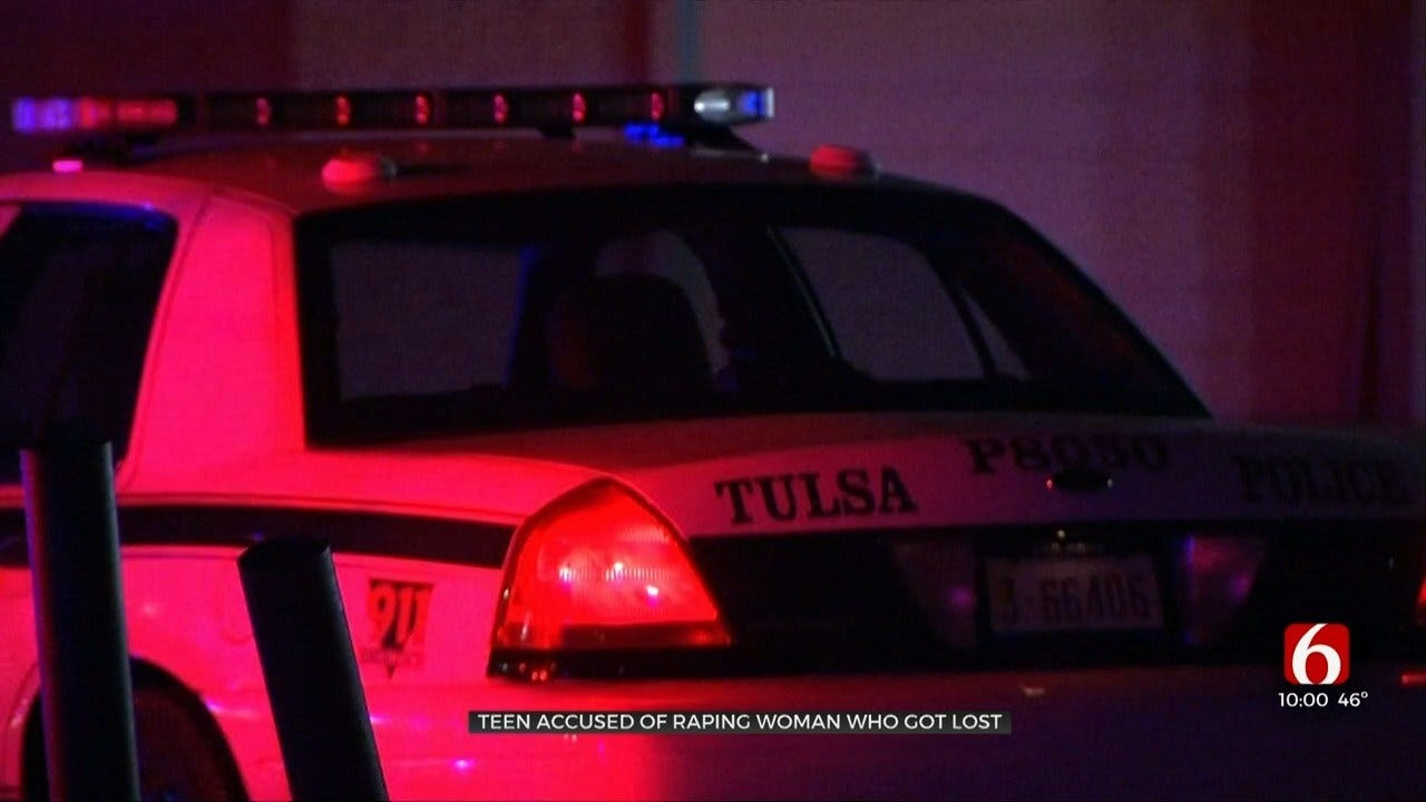 Tulsa Police: Woman Sexually Assaulted By Teen After Being Released From Hospital