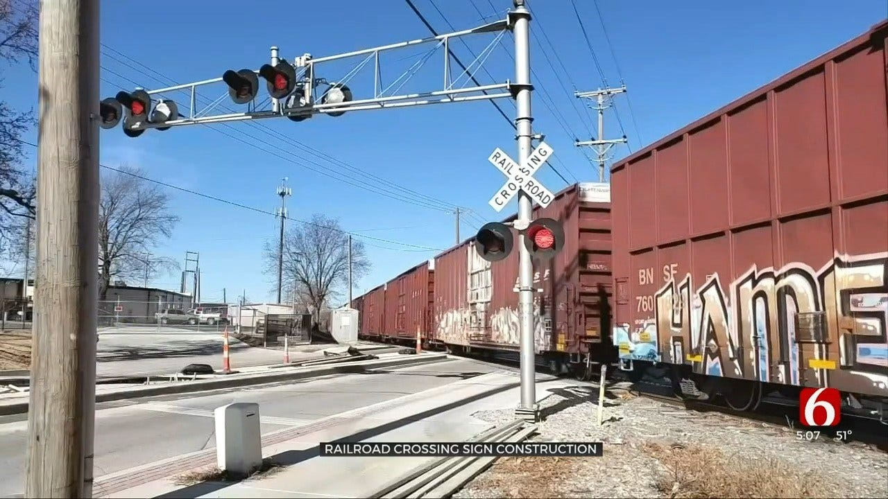 Tulsa Rail Crossing Upgrade Creates Another Construction Headache