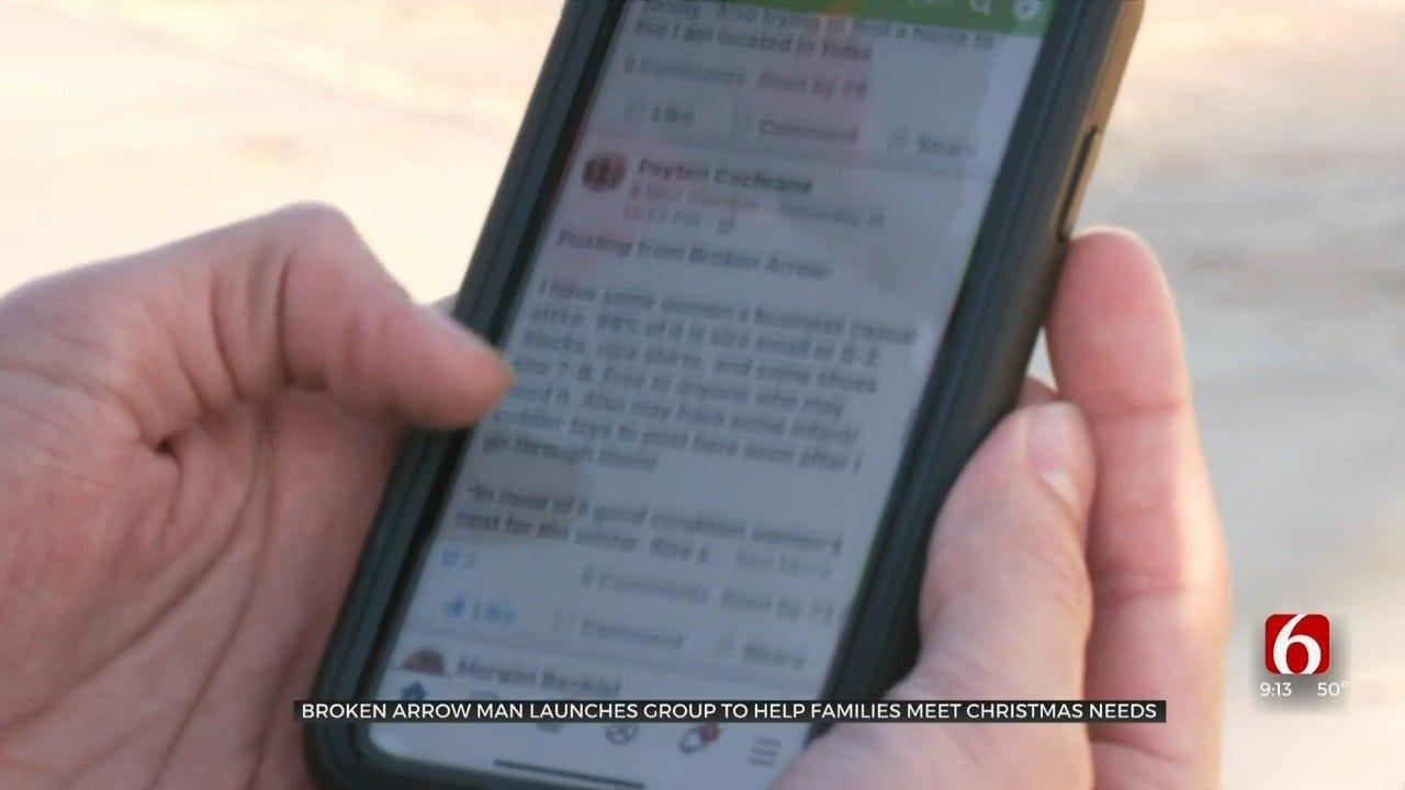 Broken Arrow Man Creates Facebook Group Focused On Exchanging Christmas Needs