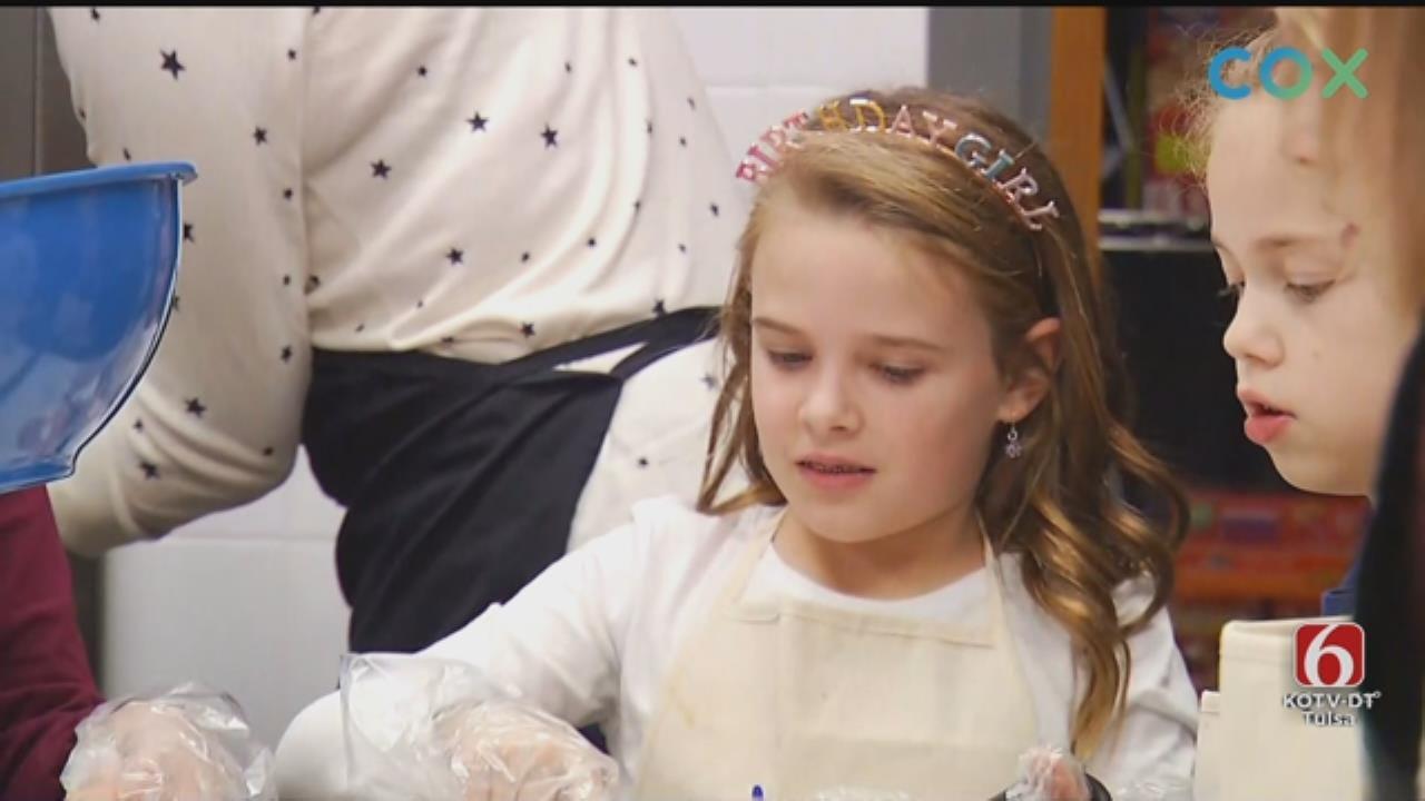 9-Year-Old Celebrates Birthday By Helping Tulsa Ronald McDonald House Residents
