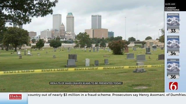 1921 Tulsa Race Massacre Mass Grave Search Results Expected Monday