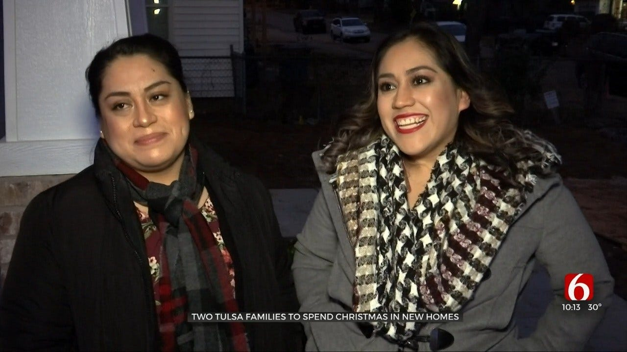 2 Sisters Get Homes From Tulsa's Habitat for Humanity