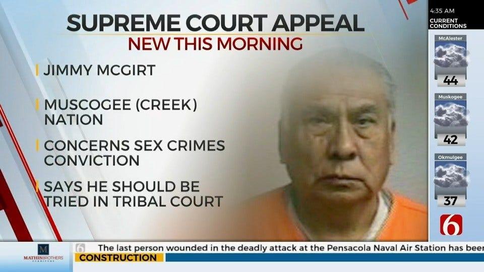 U.S. Supreme Court To Hear Oklahoma Man's Appeal