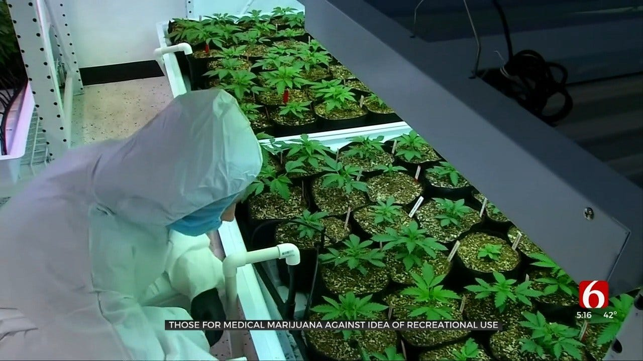 Medical Backers Concerned About Recreational Marijuana For Oklahoma