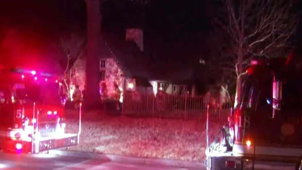 Firefighters Respond To Tulsa House Fire Near Gathering Place