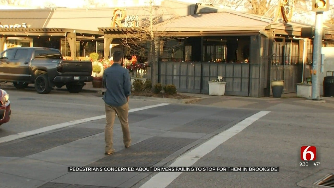 Pedestrians Concerned About Drivers Failing To Stop For Them In Brookside