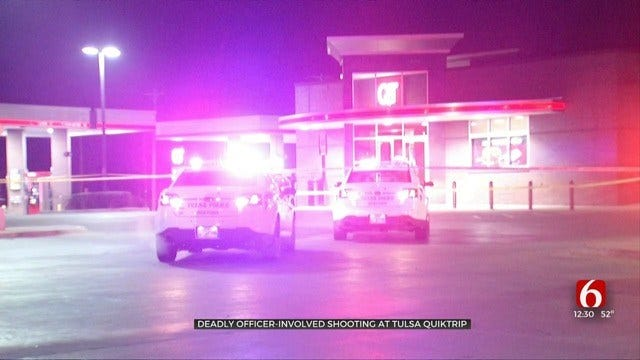 Police Identify Man Shot, Killed By Officers At Tulsa QuikTrip