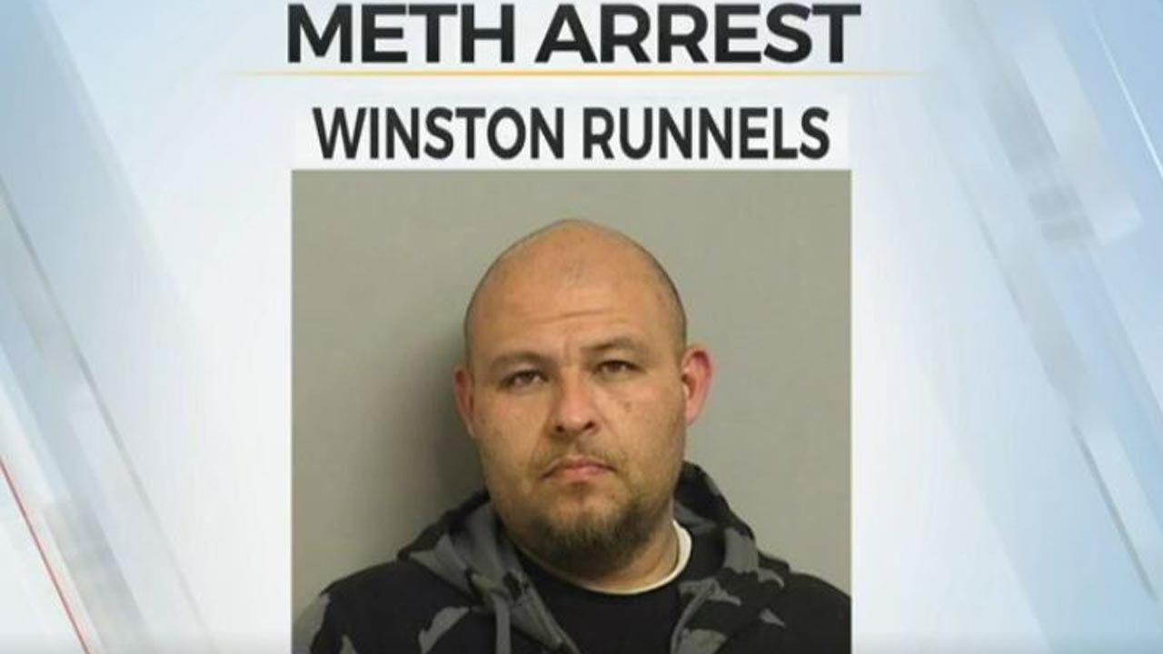 Tulsa Police: Man Arrested, Accused Of Meth Trafficking