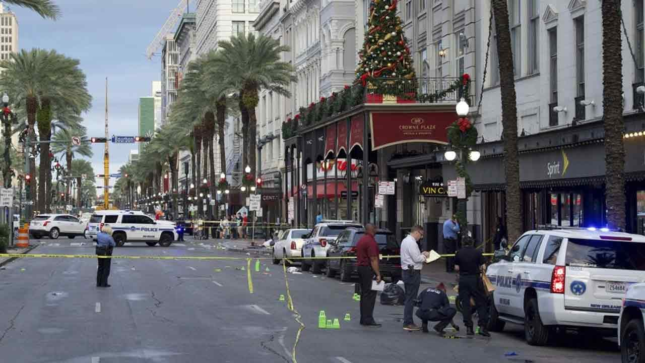 10 Wounded In Shooting Near New Orleans' French Quarter