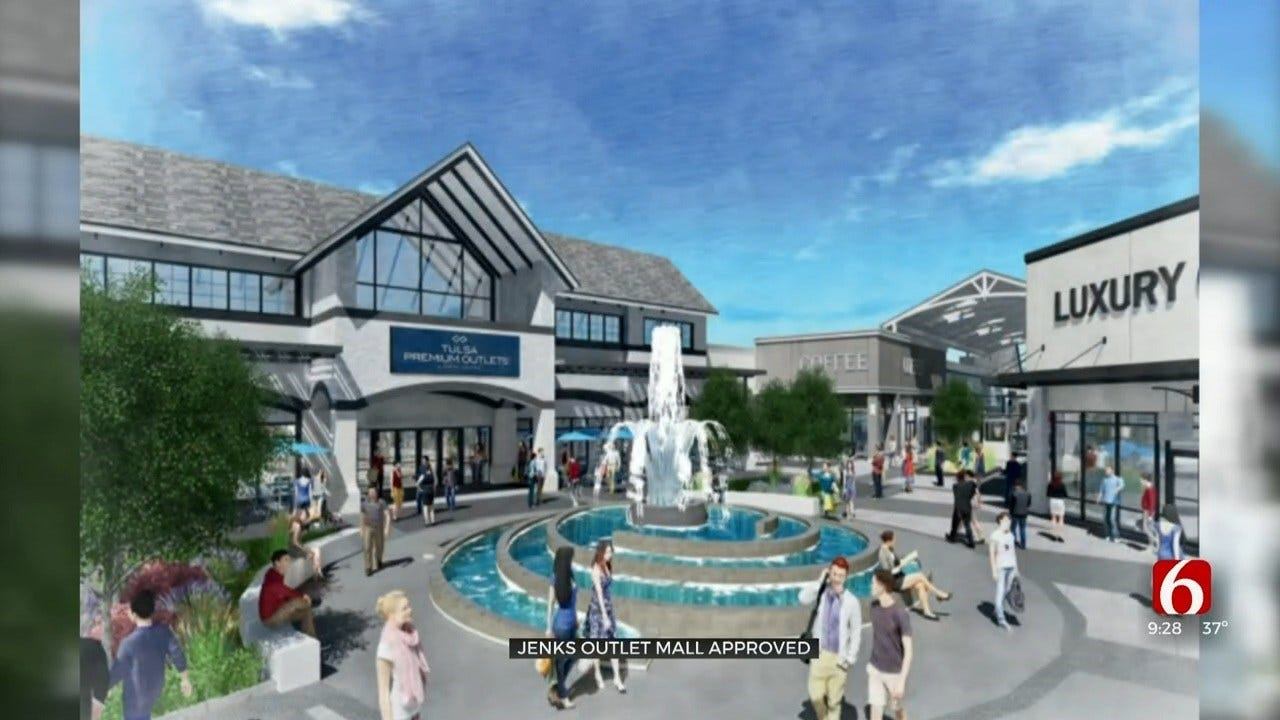 Jenks Approves New Outlet Mall