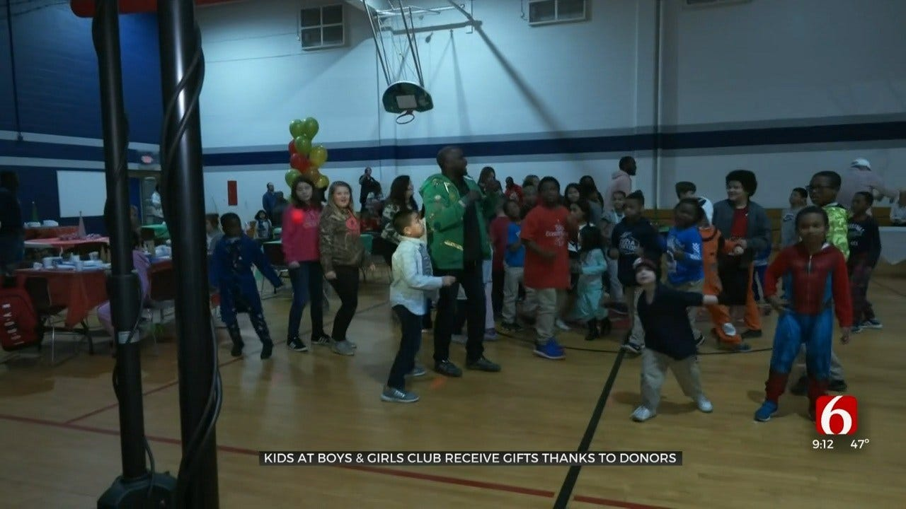 Community Helps Tulsa Boys and Girls Club Have Memorable Christmas