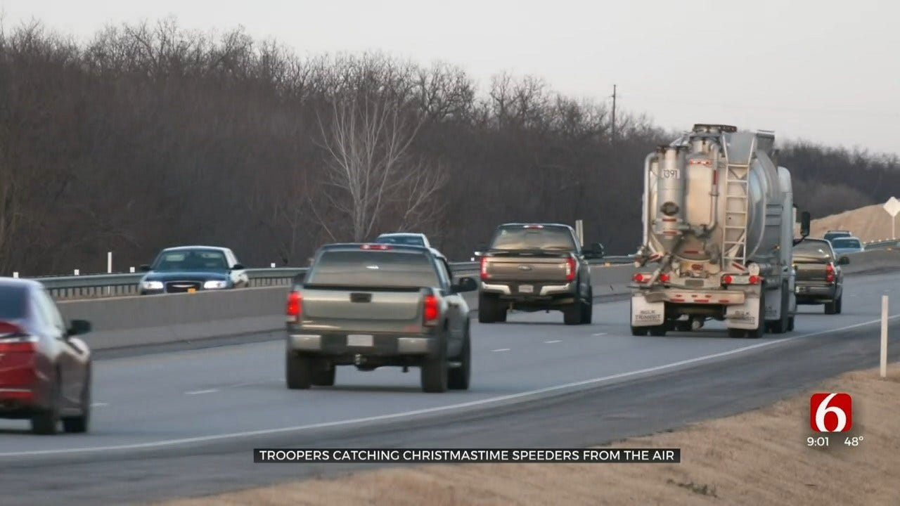 Oklahoma Highway Patrol Will Track Holiday Speeders From Airplane