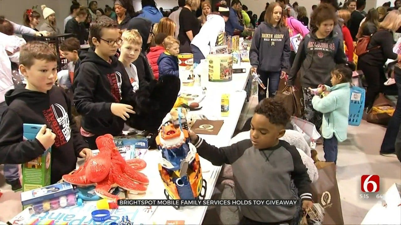 Tulsa Nonprofit Gives Out Thousands Of Christmas Toys