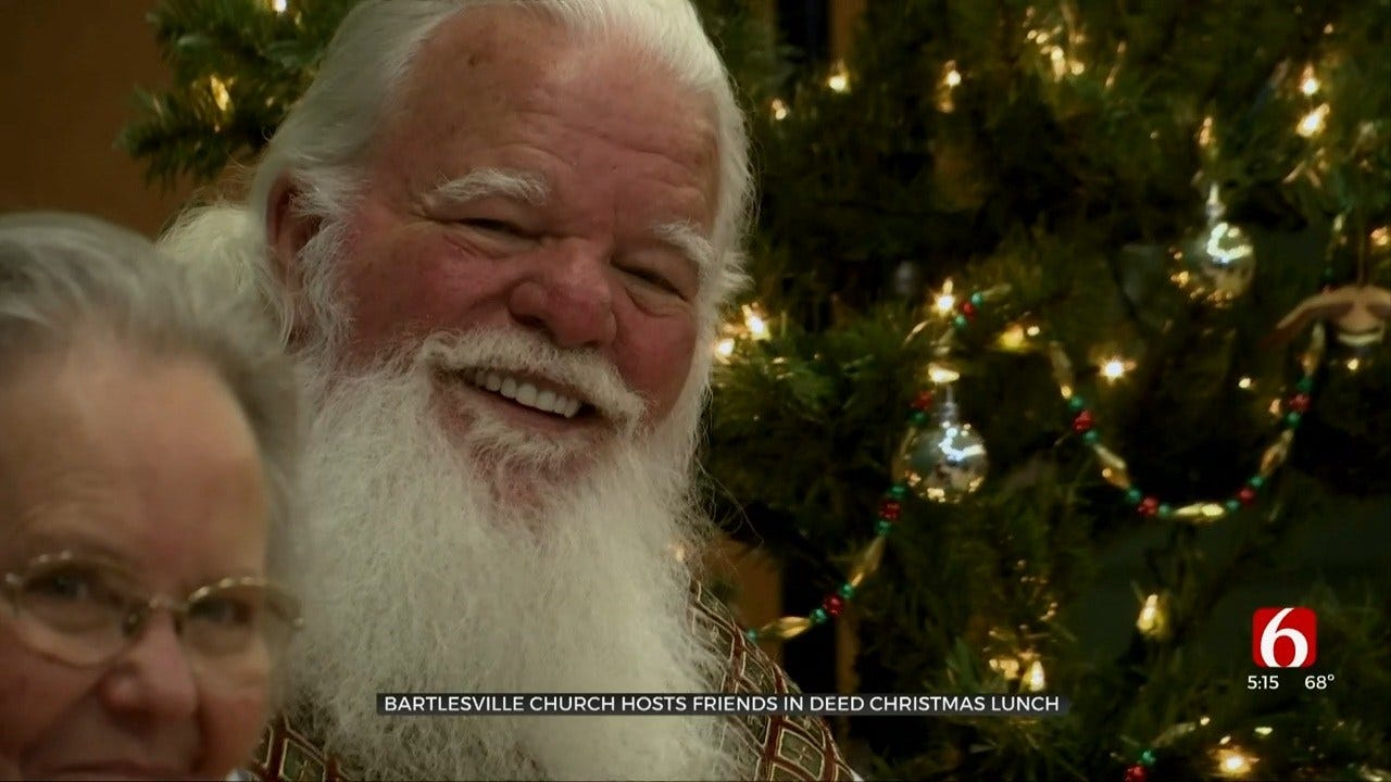 Bartlesville Church Holds Annual 'Friends in Deed Christmas Lunch'