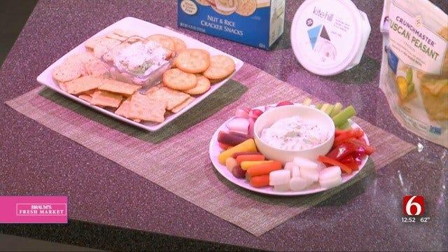 Creamy Vegan Basil & Pecan Cheese Dip