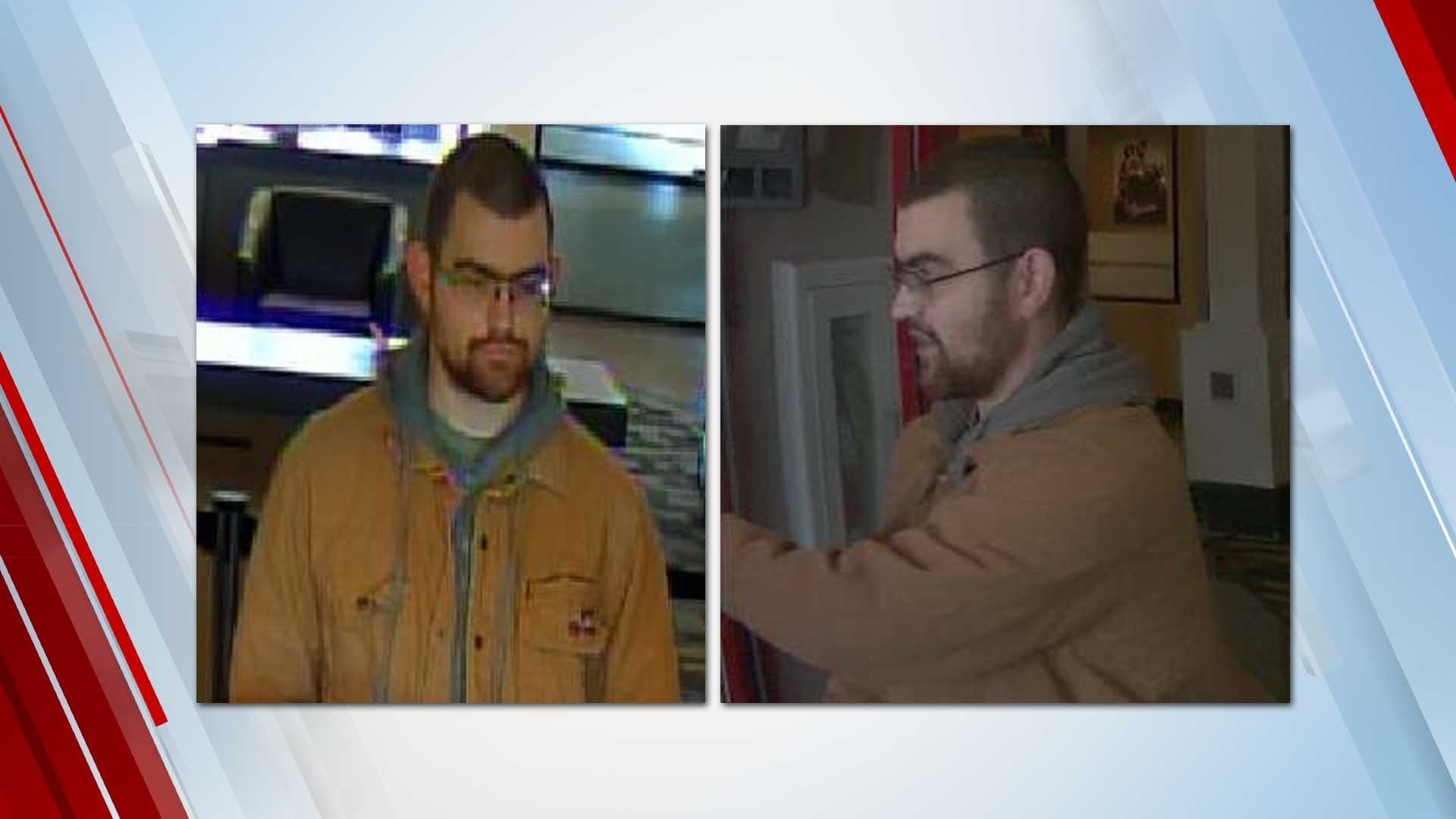 Broken Arrow Police Search For Arvest Bank Robber
