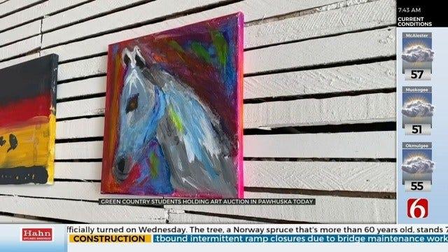 Student Art-Driven Fundraiser to Raise Money for Pawhuska Teachers