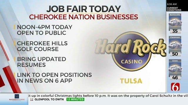 Tulsa's Hard Rock Hotel & Casino Holding Career Fair
