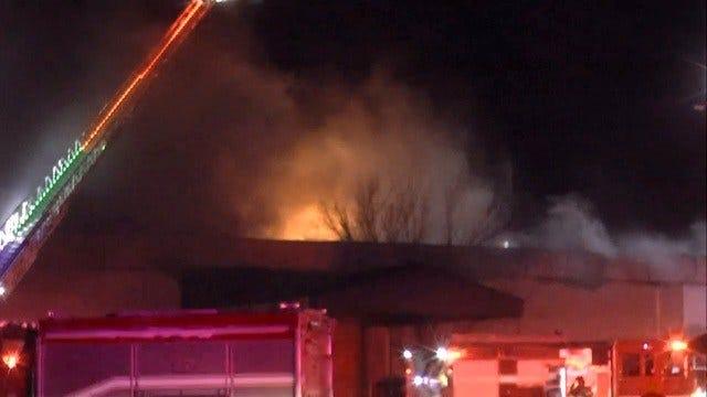 Man, Woman Dead After Tulsa Church Building Fire