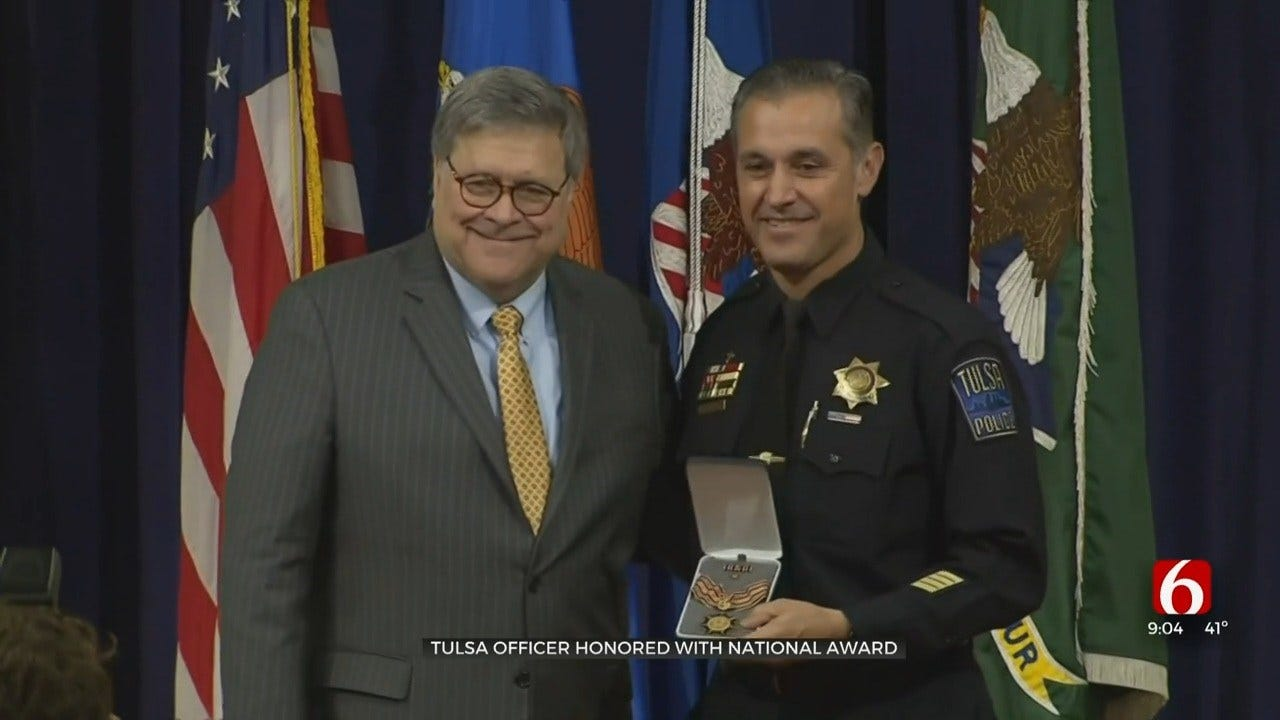 Tulsa Officer Honored With National Award For Work With Hispanic Community