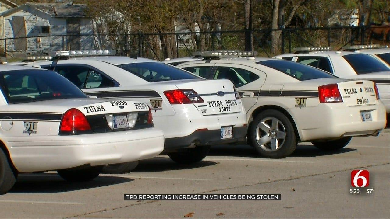 Tulsa Police: Vehicle Theft On The Rise