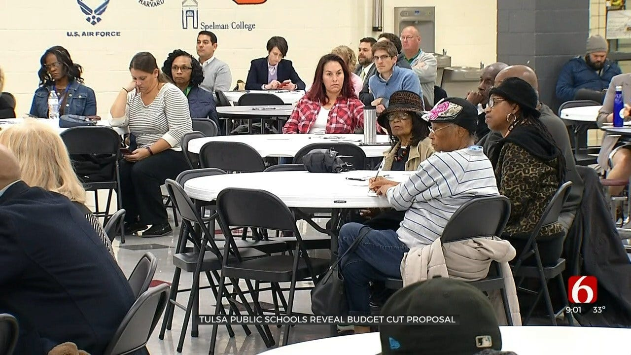 Tulsa Public School Leaders Speak About Budget Cuts