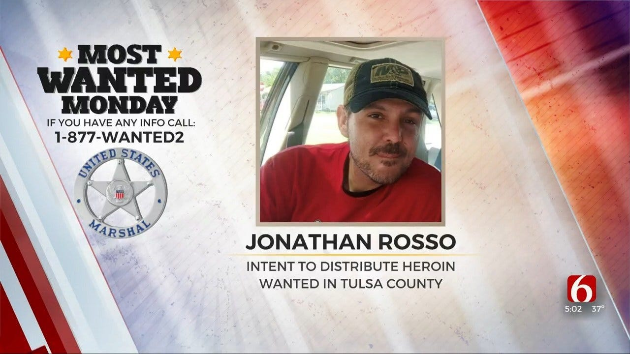 U.S. Marshals Searching For Heroin Distribution Suspect