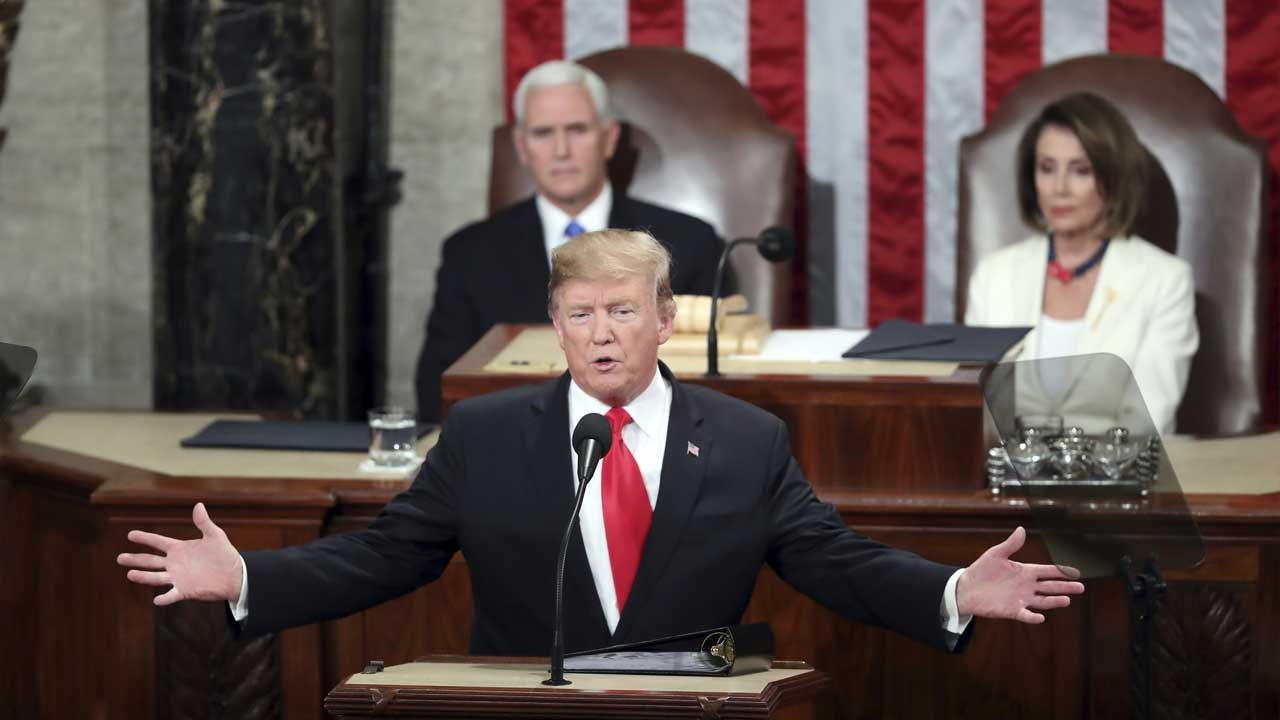 Impeached But Likely To Be Acquitted, Trump Faces Fiends & Friends At State Of The Union Address