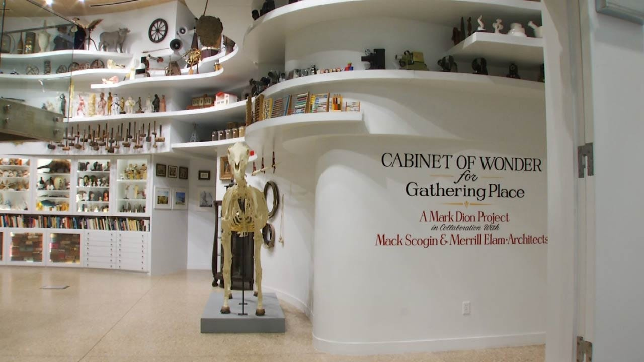 Gathering Place Cabinet Of Wonders Inspires Curiosity
