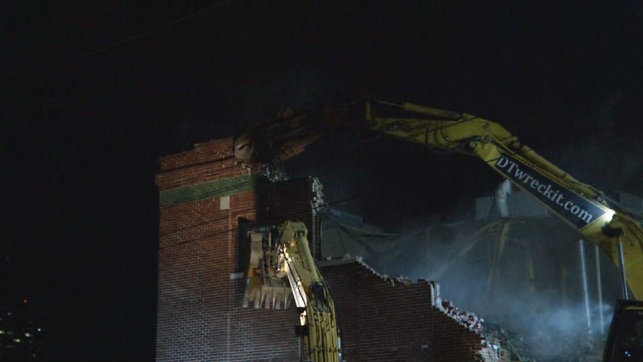 Demolition Underway For WPX Energy Headquarters