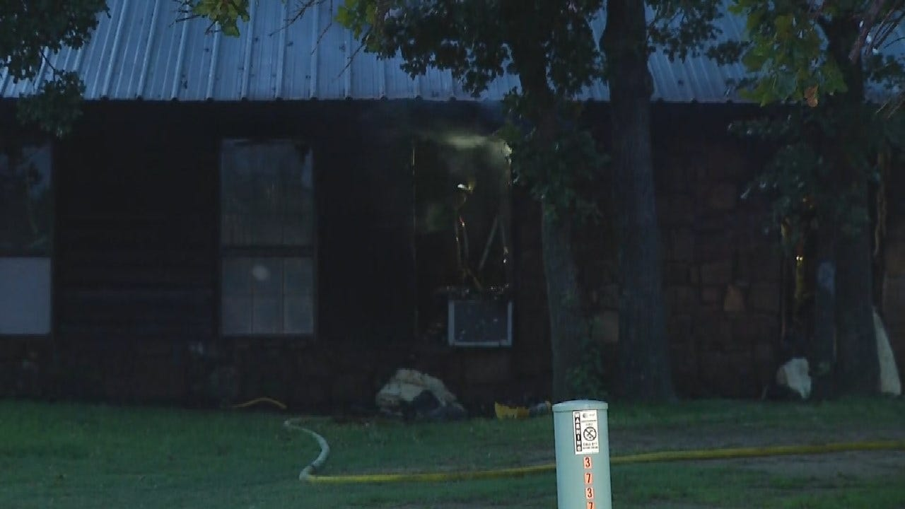 TFD: No Injuries Reported In Early Morning House Fire