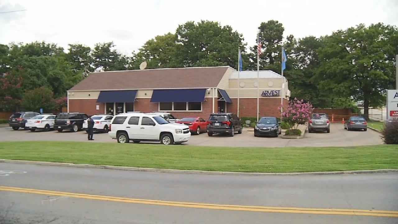 Man Suspected Of Robbing Tulsa Bank Arrested